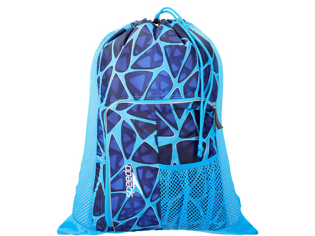 speedo Deluxe Ventilator Mesh Bag L cage blue